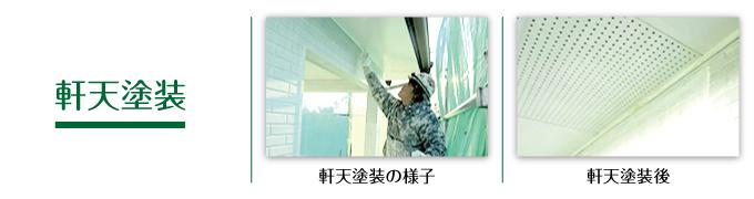 軒裏天井塗装
